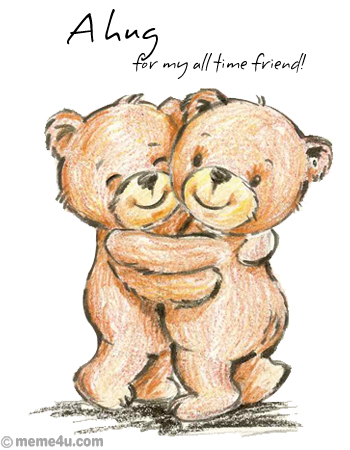 hug card for friend, cuddle up day ecard, cuddle up day wish