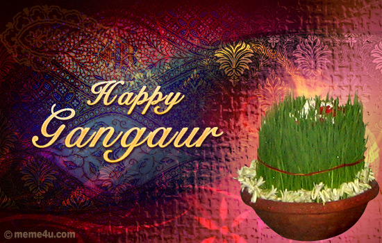 happy gangaur,gangaur cards,gangaur wishes