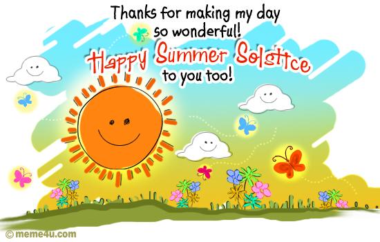 thank you,thank you ecard,summer solstice