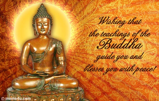 Lord Blessings.VESAK DAY Cards, VESAK DAY Ecards, Buddha Purnima.
