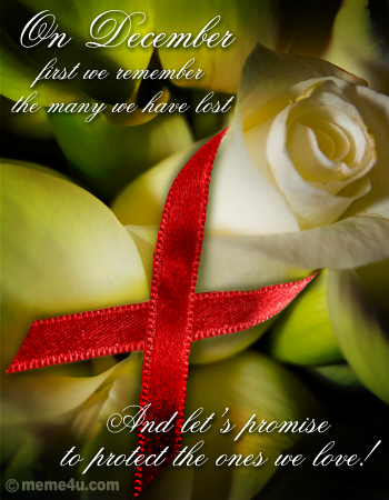 aids day, aids awareness messages, hiv aids messages