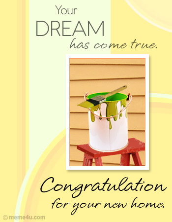New Home Congratulation Card New Home Congratulation Ecard New