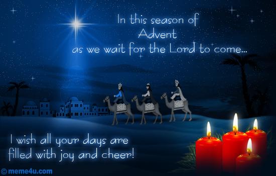 advent prayers,advent cards,advent greetings