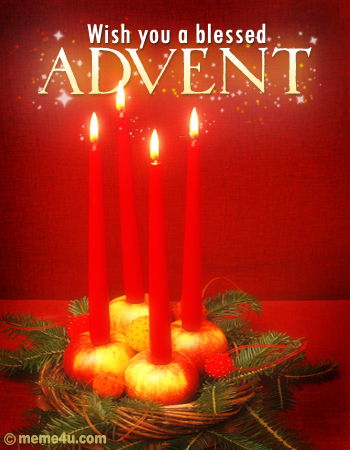 advent wreaths, advent candle, wishes on fourth sunday of advent