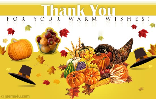 thanksgiving thank you card, thanksgiving thank you ecard, thanksgiving thank you greeting card