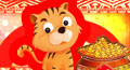 ingots, goodluck cards, chinese postcards, chinese new year wishes, chinese new year messages, new year celebration in china, good luck symbols, chinese new year good luck symbols
