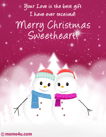 Best Christmas Gift Romantic Christmas Ecard Romantic Christmas Card