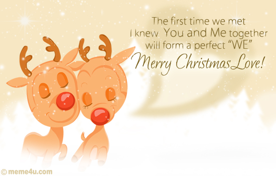 merry christmas love card, merry christmas love ecard, merry christmas love greeting