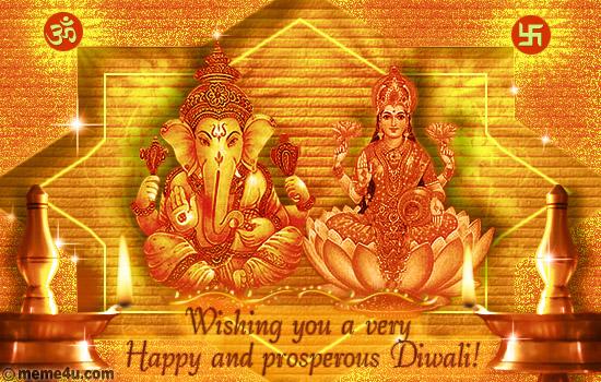 prosperous diwali card,prosperous diwali ecard,diwali card