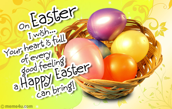 my easter wish…easter cards, easter ecards, easter greeting cards, Greeting card