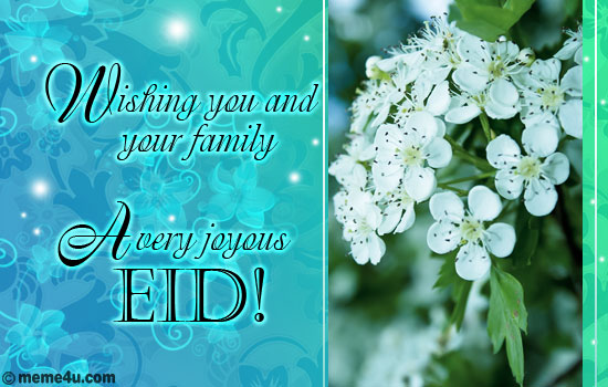 eid wishes, eid card for family, eid greeting for family