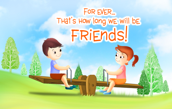 friendship free e card, 