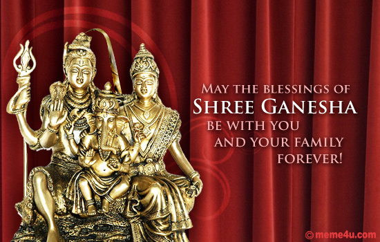ganesh chaturthi family wishes, wishes for family on ganesh chaturthi, ganesh chaturthi greetings