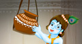 free janmashtami cards, free janmashtami greetings, free janmashtami greeting cards, free janmashtami ecards, janmashtami  ecards, janmashtami  animated greeting, makhanchor ecard