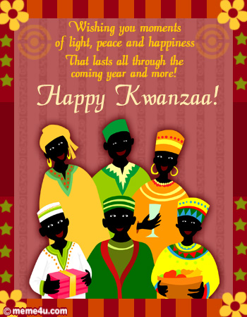 happy kwanzaa card, happy kwanzaa ecard, happy kwanzaa greeting card