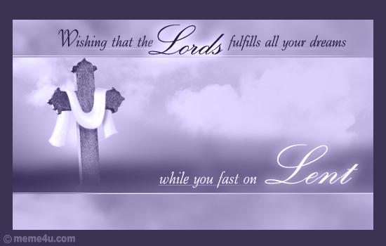 lent fast cards,lent fasting,fast on lent