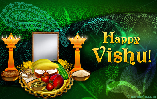 Calendar Vishu : Happy vishu quot a traditional ecard on malayalam new year