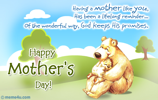 happy mothers day ecard, happy mothers day postcard, happy mothers day hugs