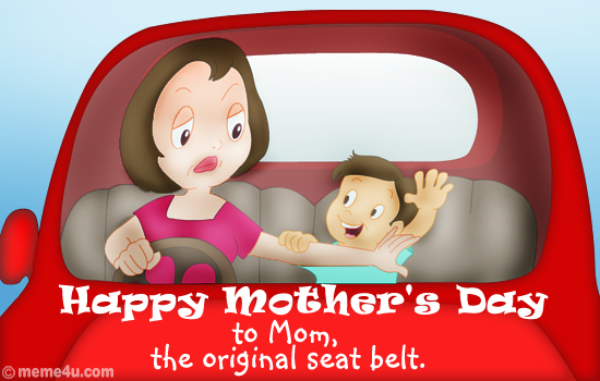 happy mothers day funny pictures. happy mothers day postcard,
