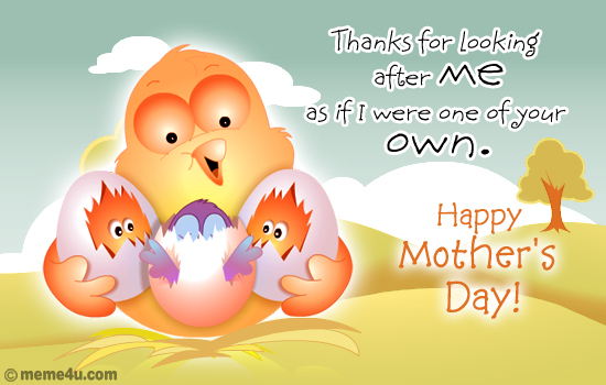 mothers day ecard for like a mother, like a mother, cards for like a mother