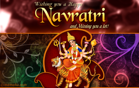 cards for navaratri, navaratri cards, navaratri e card