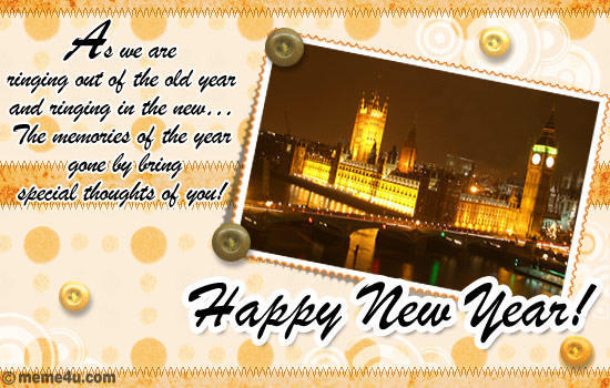 cards on new year eve, ecard on new year eve, animated greetings on new year eve