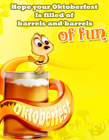 Make your Oktoberfest filled with barrels and barrels of fun!