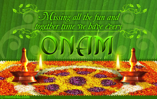 missing you onam cards, missing you onam ecards, missing you onam greetings