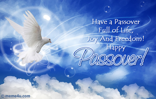 passover postcard, passover card with music, passover ecards