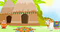 happy pongal card, pongal ecard, pongal greeting card