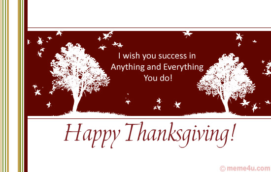 thanksgiving business card, thanksgiving business greeting card, business thanksgiving card