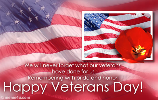 veterans day animated ecard, veterans day wish, veterans day card