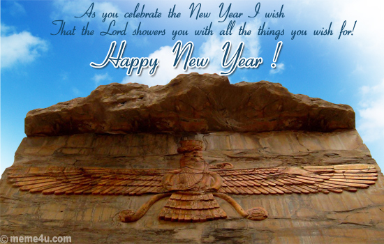 new year cards,new year greetings,zoroastrian new year cards